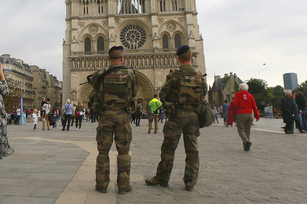 French Police Are Targeting The Relatives Of ISIS Fighters In A Terror Sweep