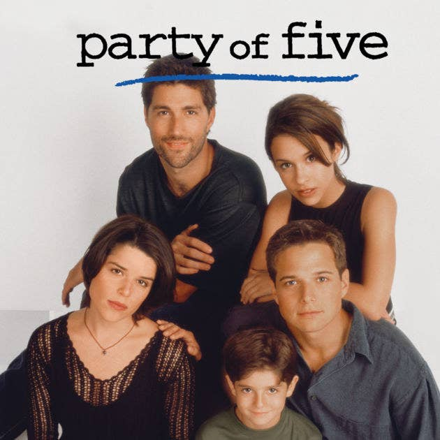 The original series aired for six seasons, from 1994 to 2000. Party of Five is known to have launched the careers of its main stars, Matthew Fox (Charlie Singer), Scott Wolf (Bailey Singer), Neve Campbell (Julia Singer), and Lacey Chabert (Claudia Singer).