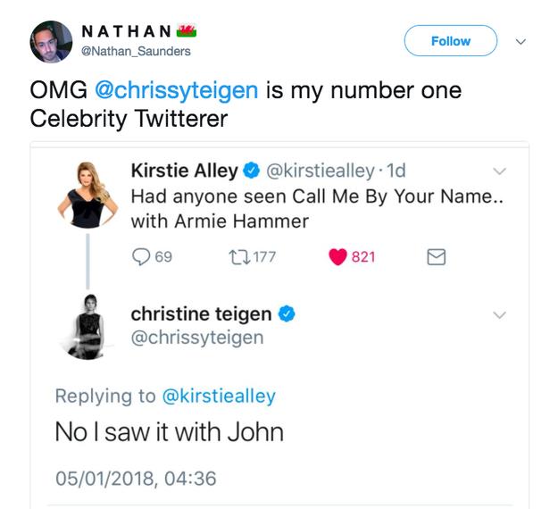 Chrissy Teigen Has Been Fucking Hilarious On Twitter So Far In 2018