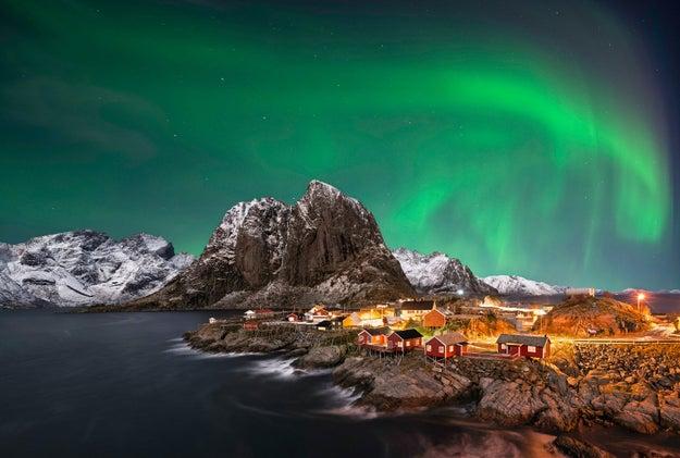 13. Über dem Polarkreis zu den norwegischen Lofoten: