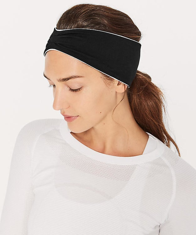 This ear warmer headband that will keep your hair back and your ears nice and toasty.