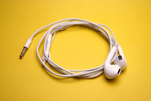 Clean your dirty earbuds or in-ear headphones.