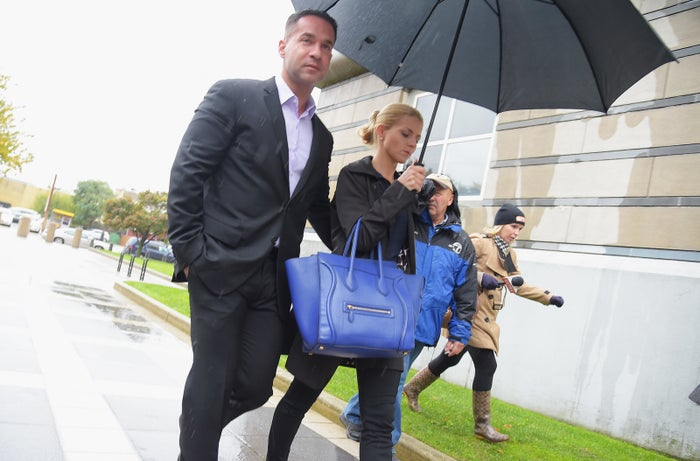 """Mike """"The Situation"""" Sorrentino and fiancé Lauren Pesce."""
