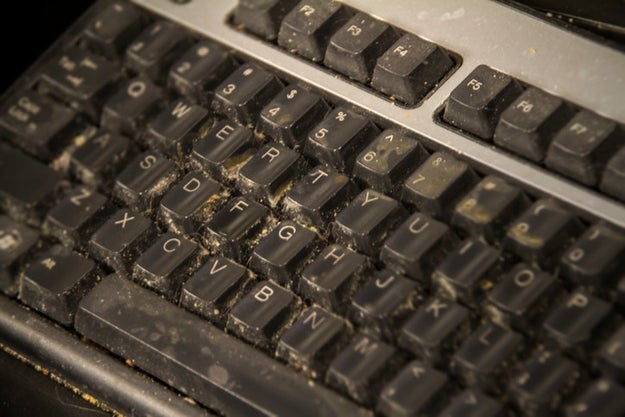 Clean your computer keyboard.