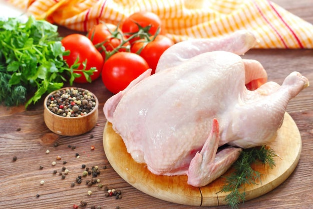 Buy whole chickens instead of the expensive packaged cuts.