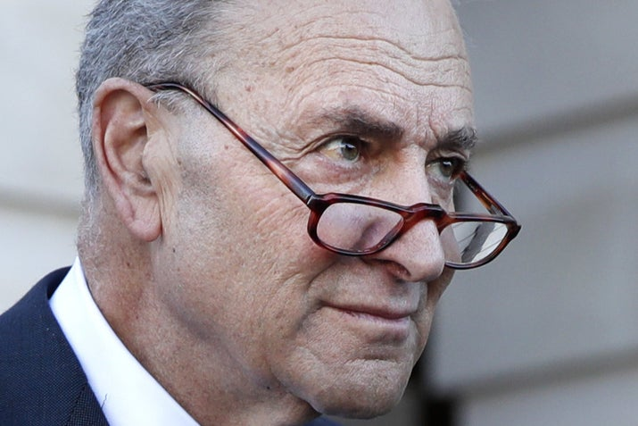 Senate Minority Leader Chuck Schumer, after meeting with President Donald Trump on Friday.