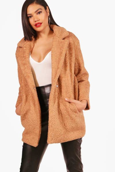 5dec1ecd8e 1. UK-based Boohoo will have your wallet weeping tears of joy. Why? They  sell a ton of on-trend coats at ridiculously reasonable prices.