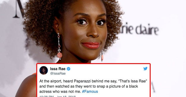 Issa Rae Watched Paparazzi Take Pictures Of