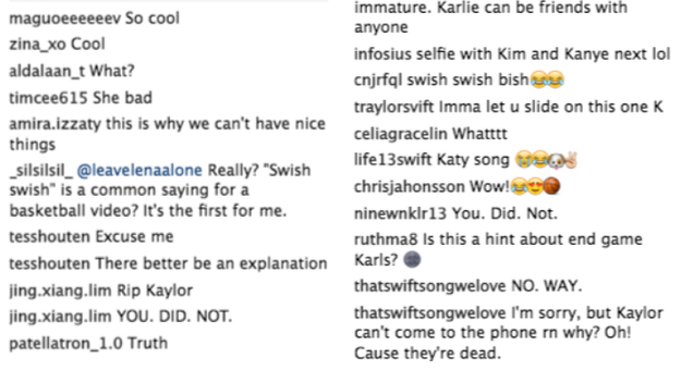 Swifties obviously had some thoughts: