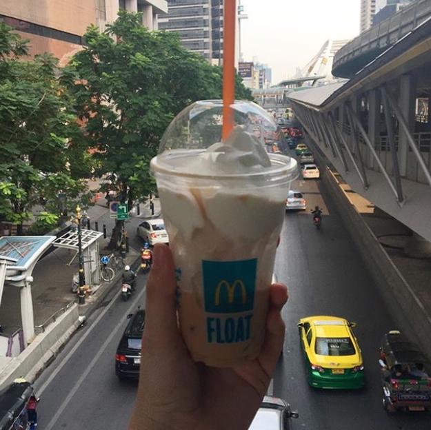 Milky Tea Float (McDonald's Thailand)