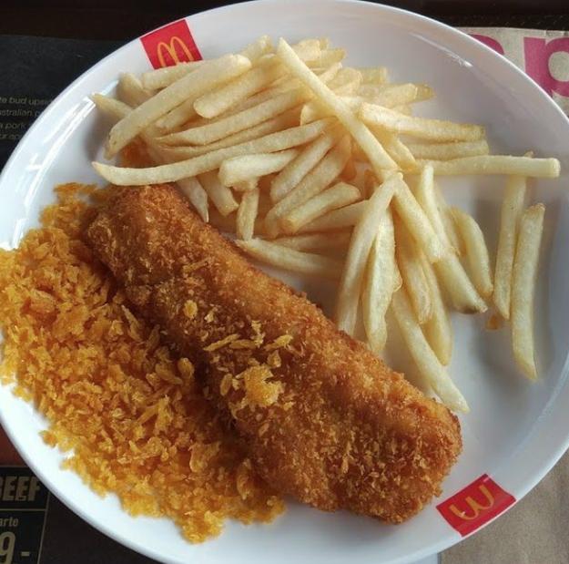Fish & Chips (McDonald's Thailand)