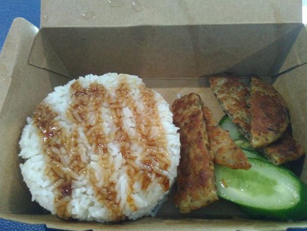 Grilled Pork Rice (McDonald's Vietnam)