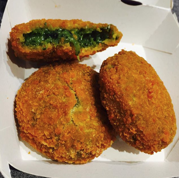 Ricotta and Spinach Bites (McDonald's Italy)