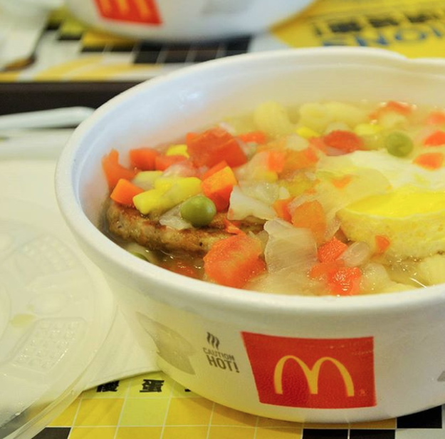 Twisty Pasta Breakfast (McDonald's Macau)