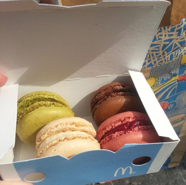 Macaroons (McDonald's Belgium)