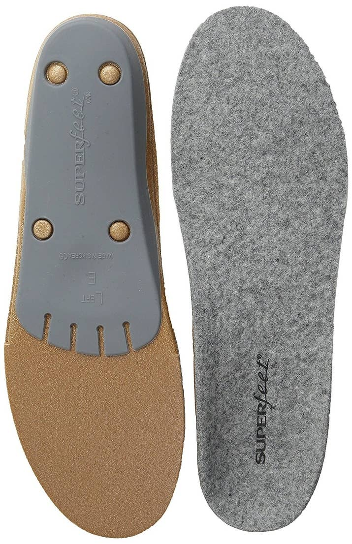 A Pair Of Merino Wool Inserts To Make The Shoes You Already Own That Much Warmer This Winter They Re Made Moisture Wicking Material And Designed With