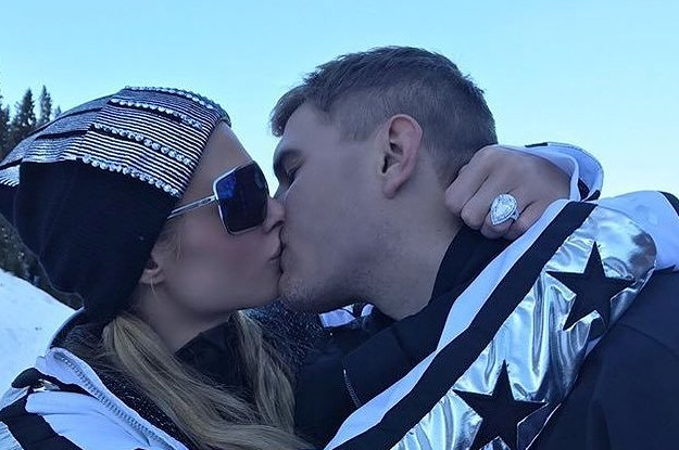Paris Hilton Just Got Engaged, And Holy Shit Her Ring Is Massive