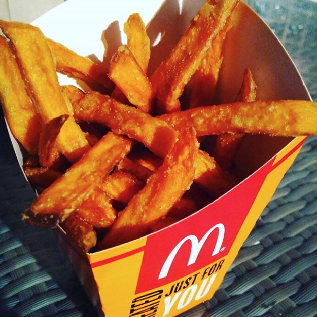 Sweet Potato Fries (McDonald's Singapore)
