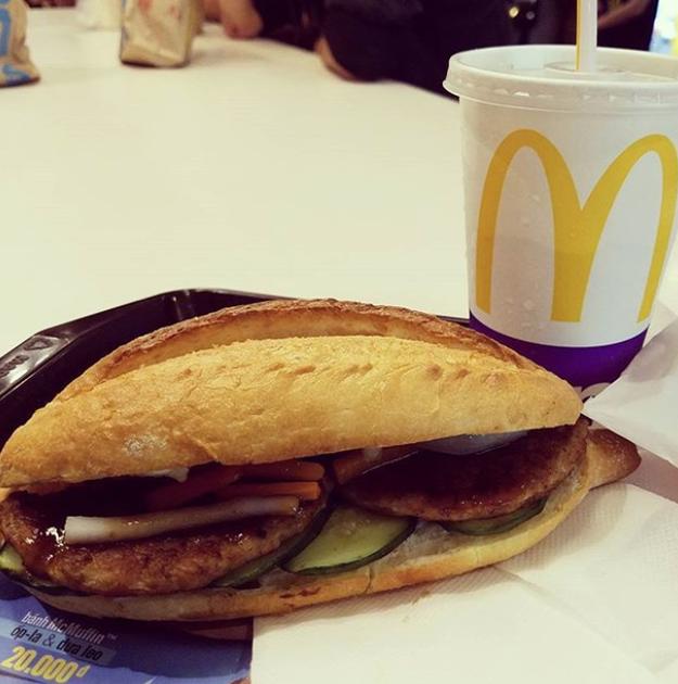 Grilled Pork Banh Mi (McDonald's Vietnam)