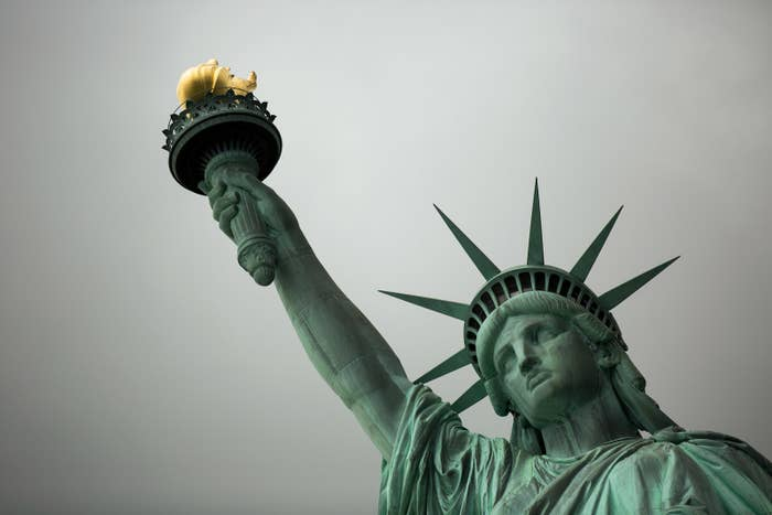Over 4.5 million tourists visited Liberty Island in 2016.