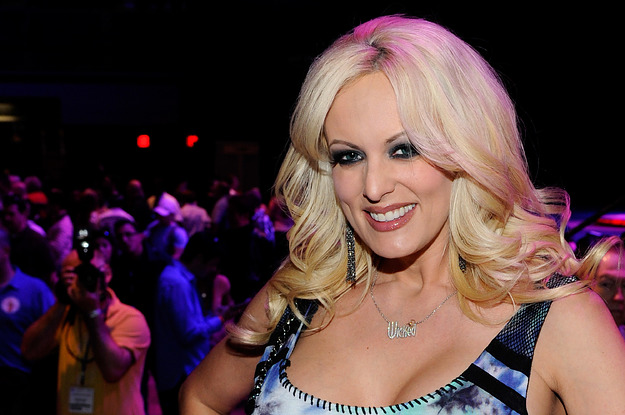 Here's What It Was Like At Stormy Daniels' Strip Club Appearance
