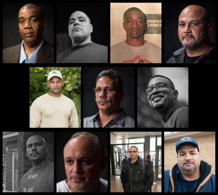 Top row, from left: Juan Johnson, Daniel Rodriguez, Antonio McDowell, Jose Montanez; Second row: Manuel Rivera, Angel Rodriguez, Roberto Almodovar; Third row: Armando Serrano, Jacques Rivera, Thomas Sierra, Jose Melendez.