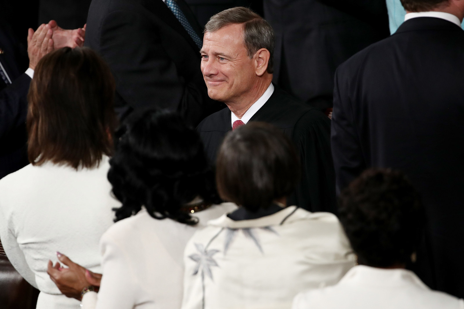 Chief Justice John Roberts last year.