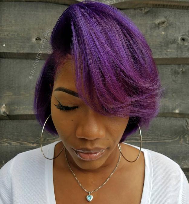 ...Or juicy purple hues...