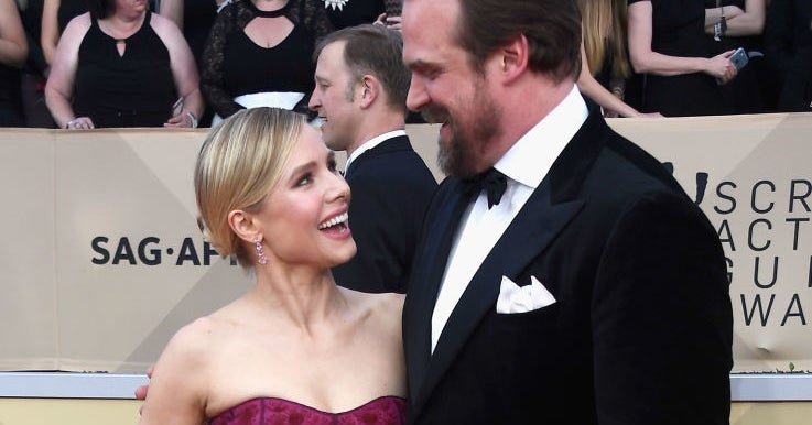 Umm, Kristen Bell And David Harbour Need To Star In A Buddy Comedy