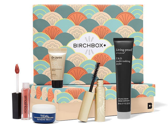 """Promising review: """"The best time of the month, and for ten bucks? Hell yes!"""" —hallztheticsGet it from Birchbox for $10/month."""