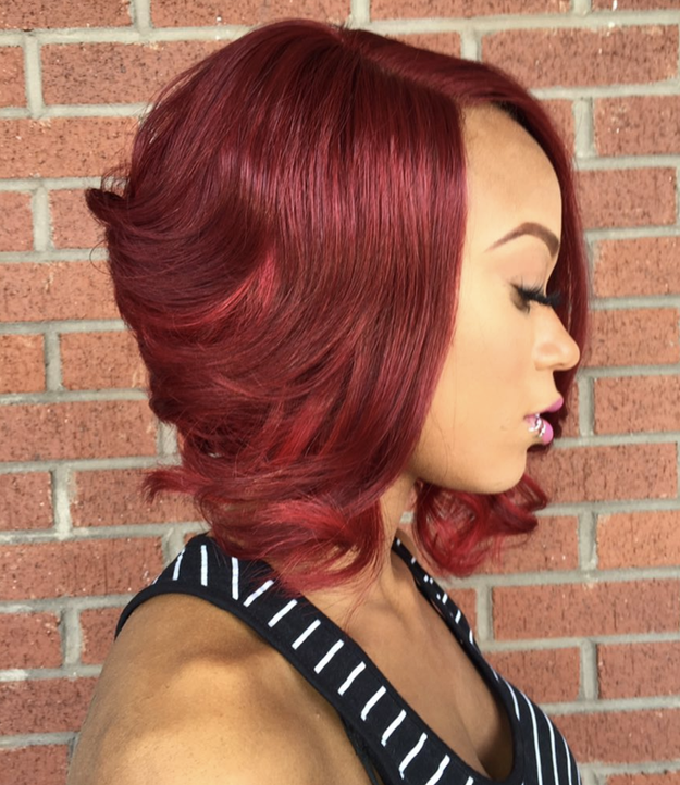 Bobs are already next-level but when you add some cherry vibes...