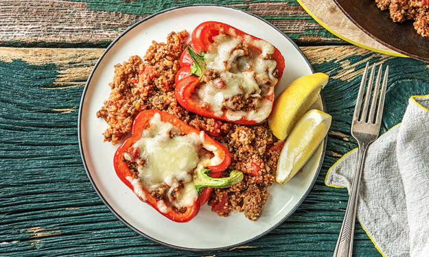 Honestly, you'd be hard pressed to find a meal that makes your mouth water like a hulking plate of stuffed peppers.