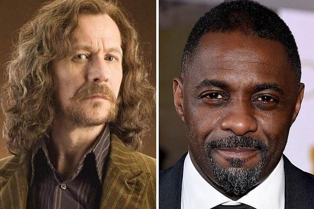 """Se todos os personagens de """"Harry Potter"""" fossem interpretados por atores negros"""