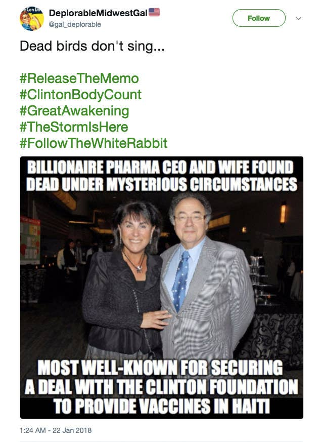Conspiracy Theorists Are Trying To Link The Deaths Of A Billionaire