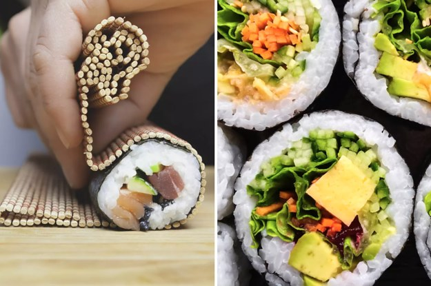 Build Your Dream Sushi Roll And We'll Tell You What Makes You Unique