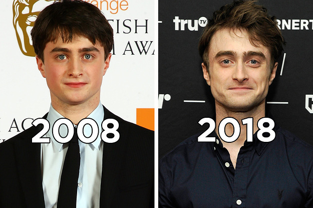 Here's How Your Fave Harry Potter Actors Have Changed From 2008 To 2018