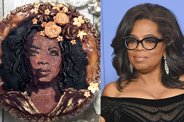 These Celebrity Portraits Made Out Of Pie Are Actually Too Beautiful To Eat