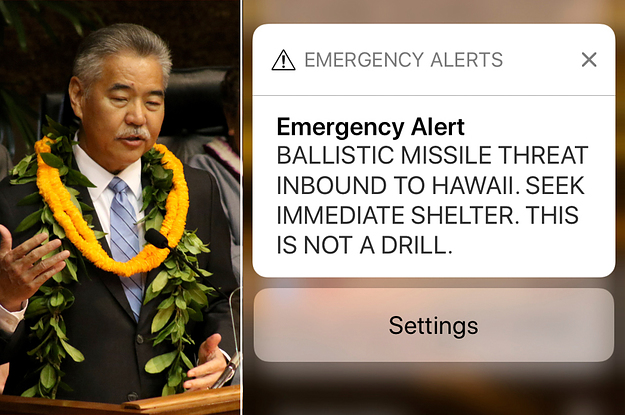 Hawaii's Governor Said He Couldn't Warn The Public About A False Missile Alert Because He Didn't Know His...