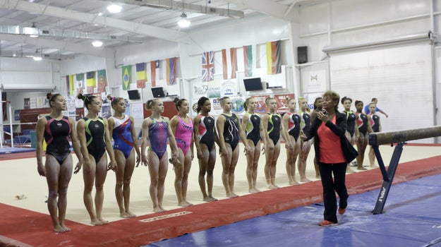 According to USA Gymnastics, national team members and their coaches report to Karolyi Ranch every four to six weeks to train with the national coaches.
