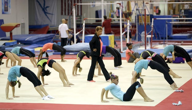 Athletes chosen to represent the United States in major competitions are judged based on their performances at the Karolyi Ranch during these sessions.