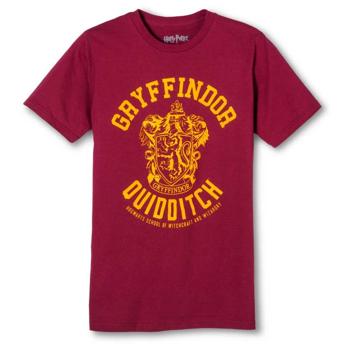 6de1e4861 A super-soft Gryffindor T-shirt, because the Super Bowl is happening soon  and you need to have your team gear ready to go!