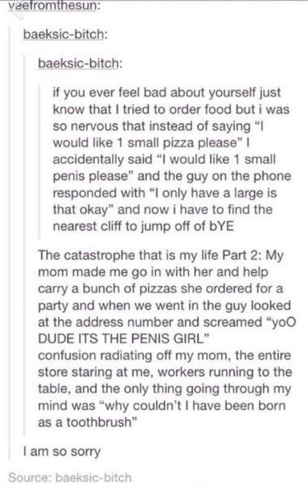 This pizza order gone wrong: