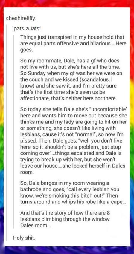 Dale's tale: