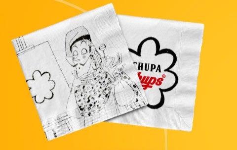 El artista dibujó el logo de la margarita en una servilleta de papel, y con eso creó uno de los logos más representativos del mundo.