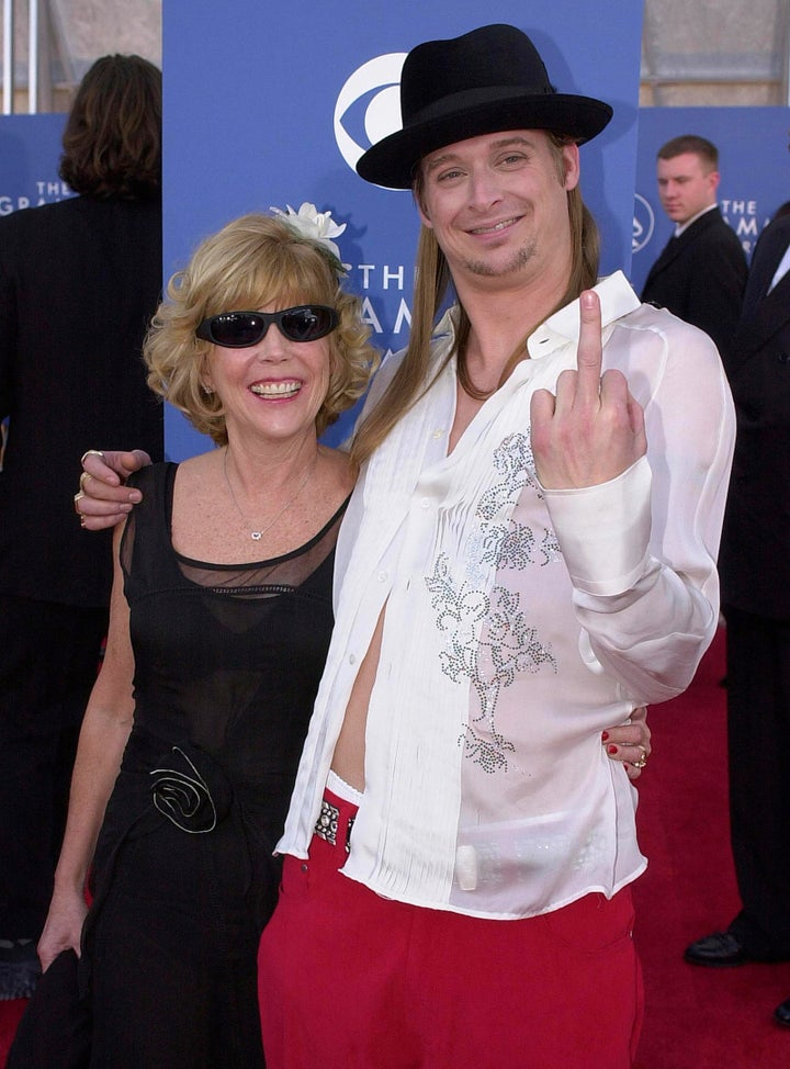 Kid Rock and his mom Susan — 2001