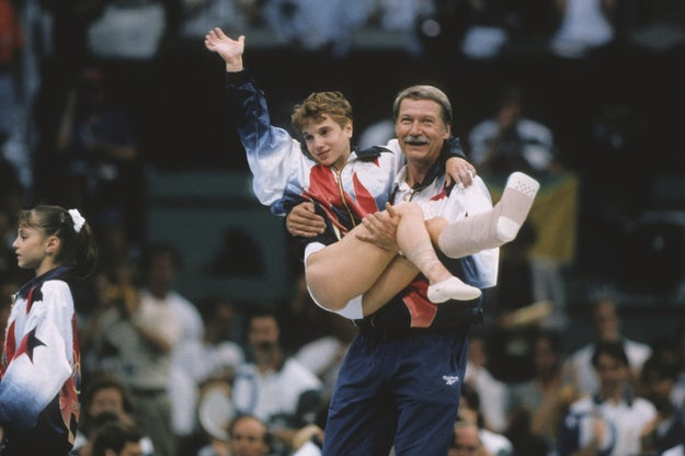 Bela became internationally known when he carried injured gymnast Kerri Strug off the mat in the 1996 Olympics right after her legendary vault that won the USA the gold medal.