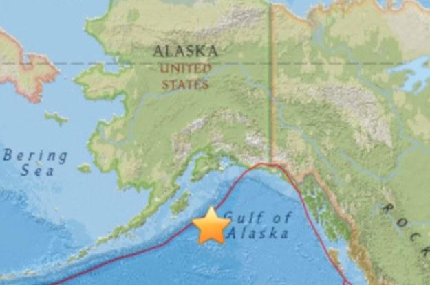 A Powerful Earthquake Has Struck Off The Coast Of Alaska