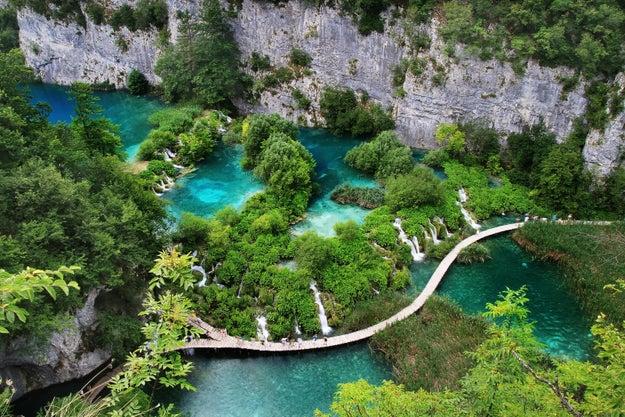 7. Der faszinierende Nationalpark Plitvicer Seen in Kroatien: