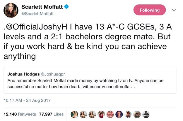 11 Times Scarlett Moffatt Gave No Fucks