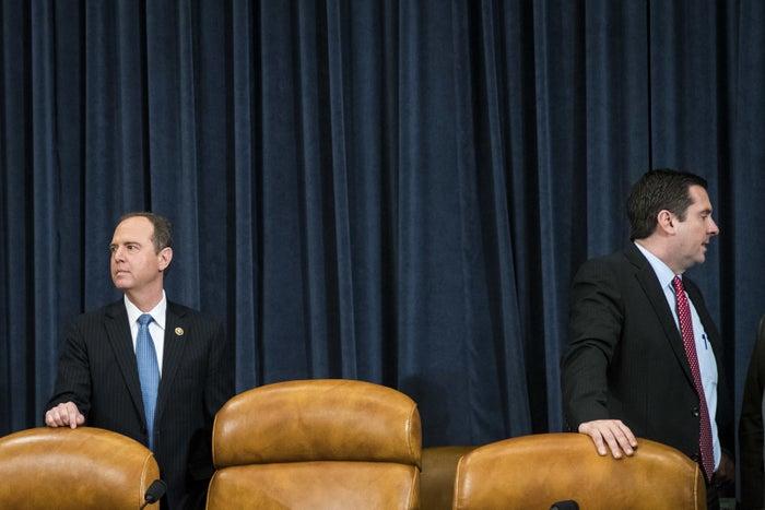 Democrat Adam Schiff and Republican Devin Nunes are at odds over #ReleaseTheMemo.